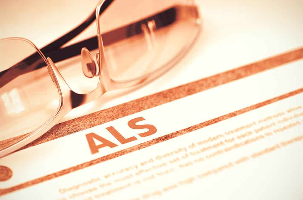 an image of reports on ALS