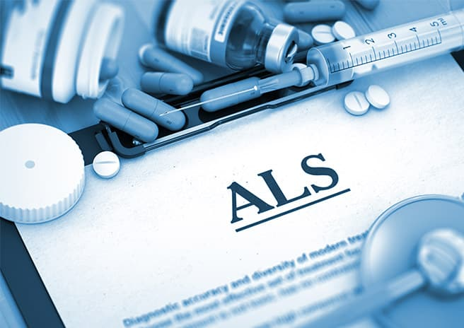 image of documentation for Riluzole an FDA approved drug for ALS disease